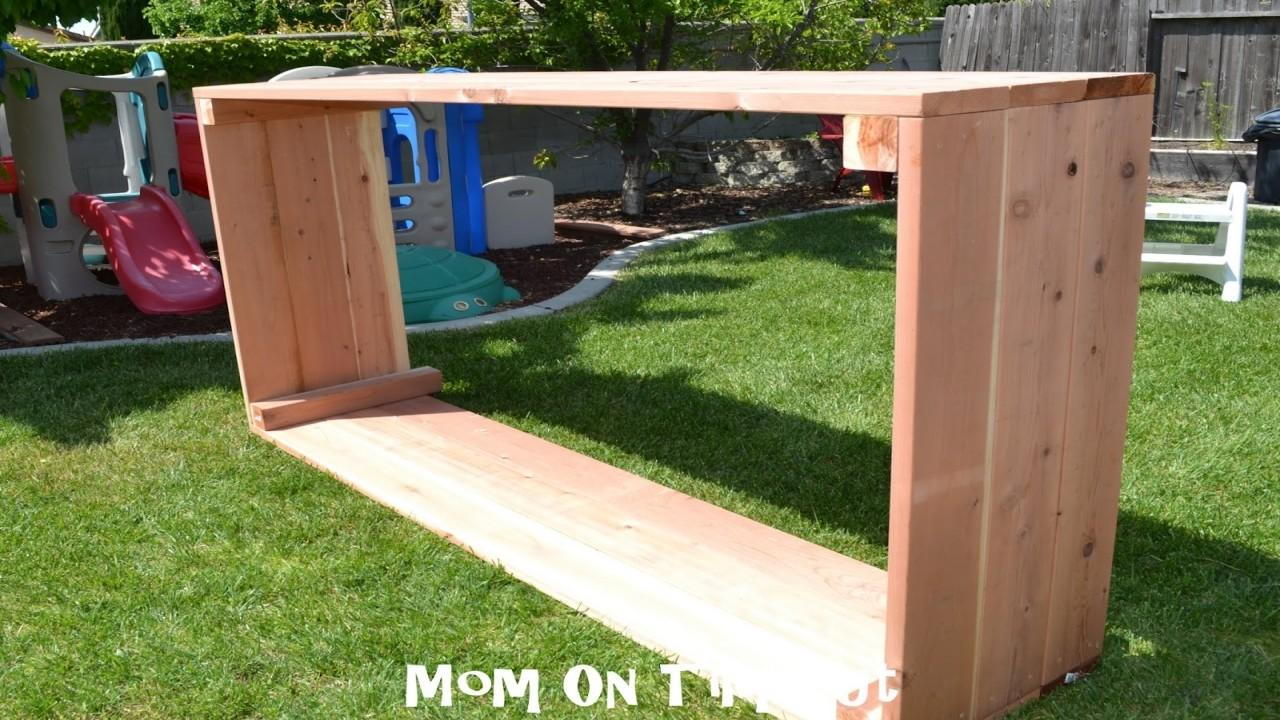 Diy Garden Planter Box Tutorial Gardening Glubdubs
