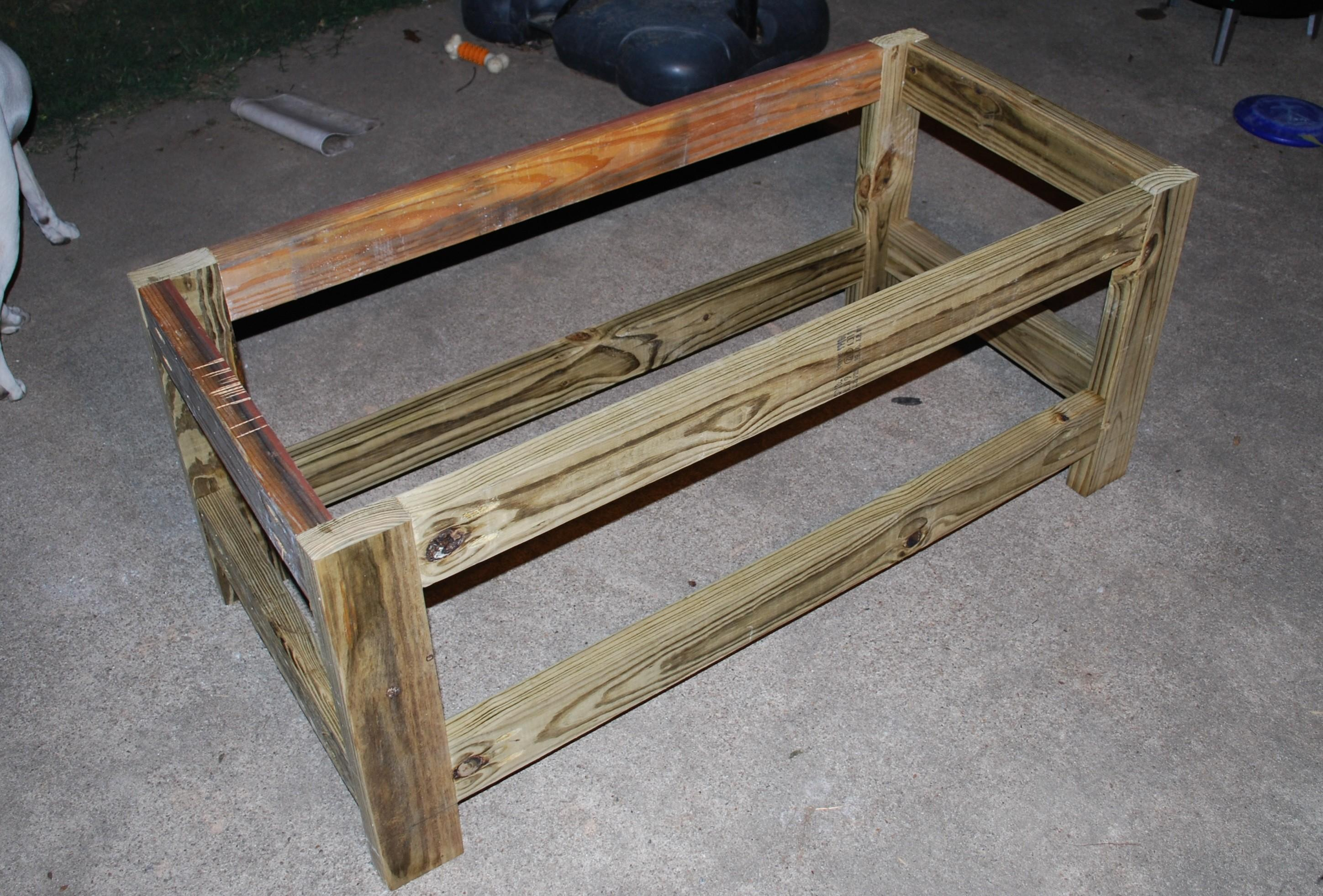 Diy Garden Storage Bench Plans
