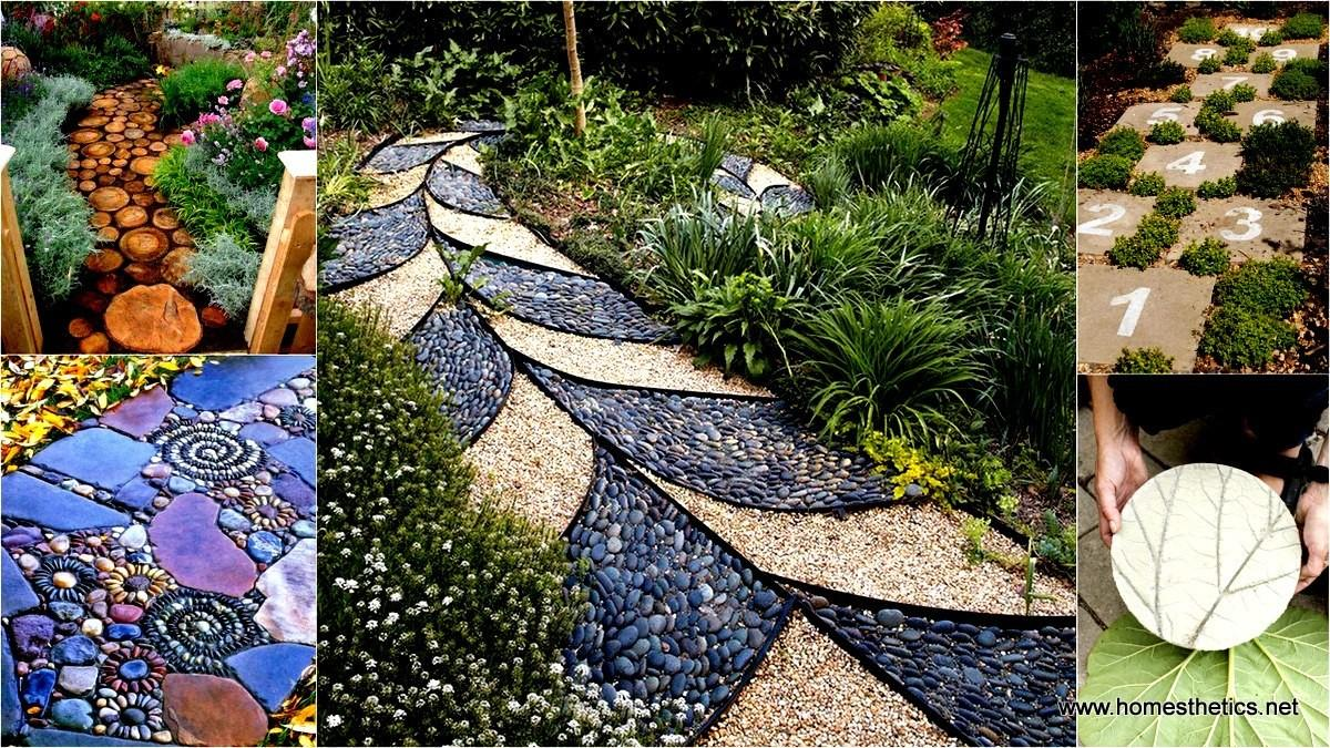Diy Garden Walkway Projects Inspiration Spring