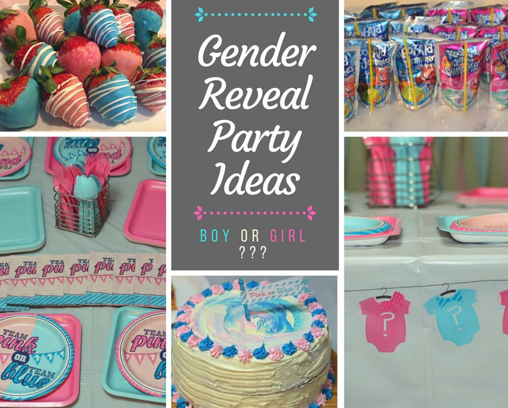 Diy Gender Reveal Party Your Self