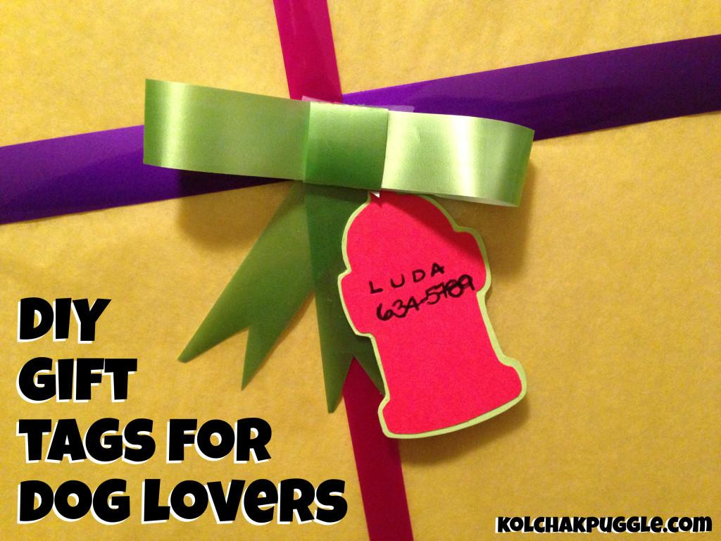 Diy Gift Dog Lovers Kol Notes