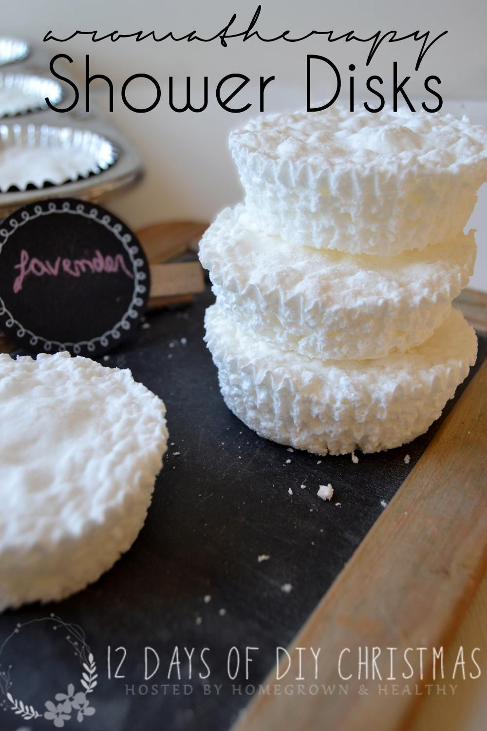 Diy Gift Idea Aromatherapy Shower Disc Homegrown