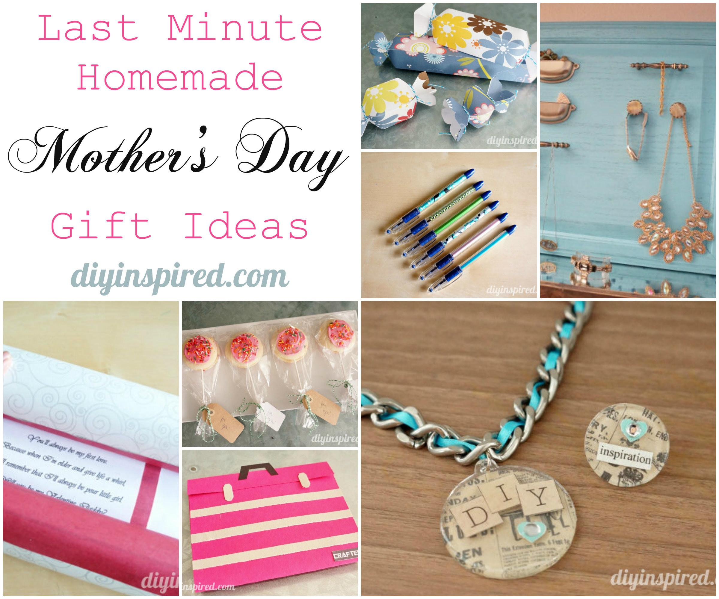 Diy Gift Idea Crafthubs Last Minute Homemade