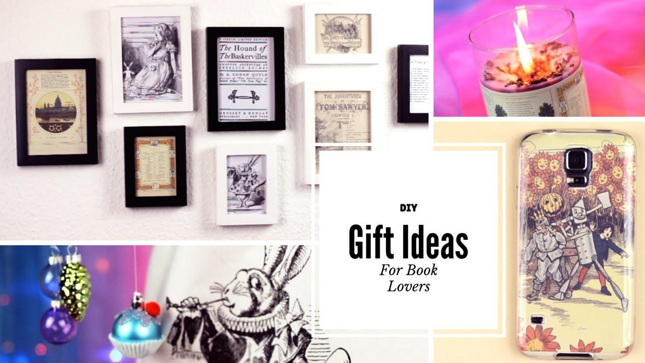 Diy Gift Ideas Book Lovers