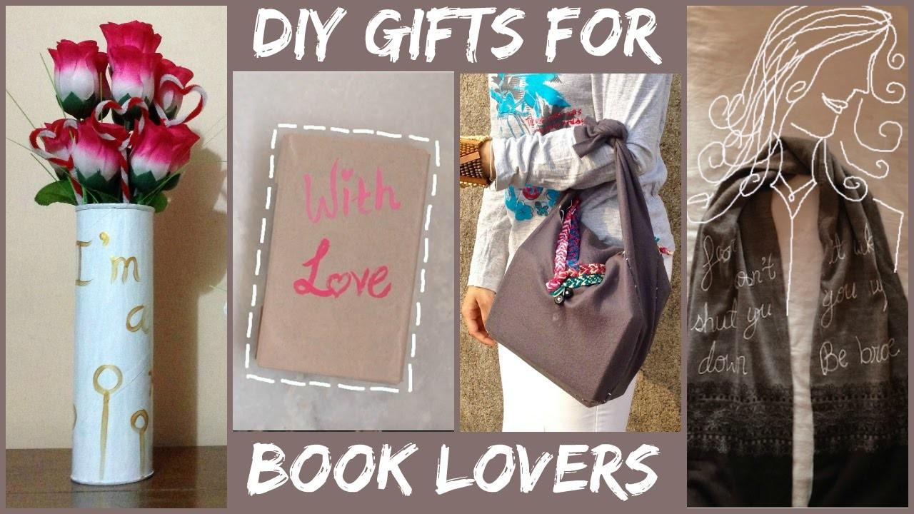 Diy Gift Ideas Book Lovers Harry Potter Divergent