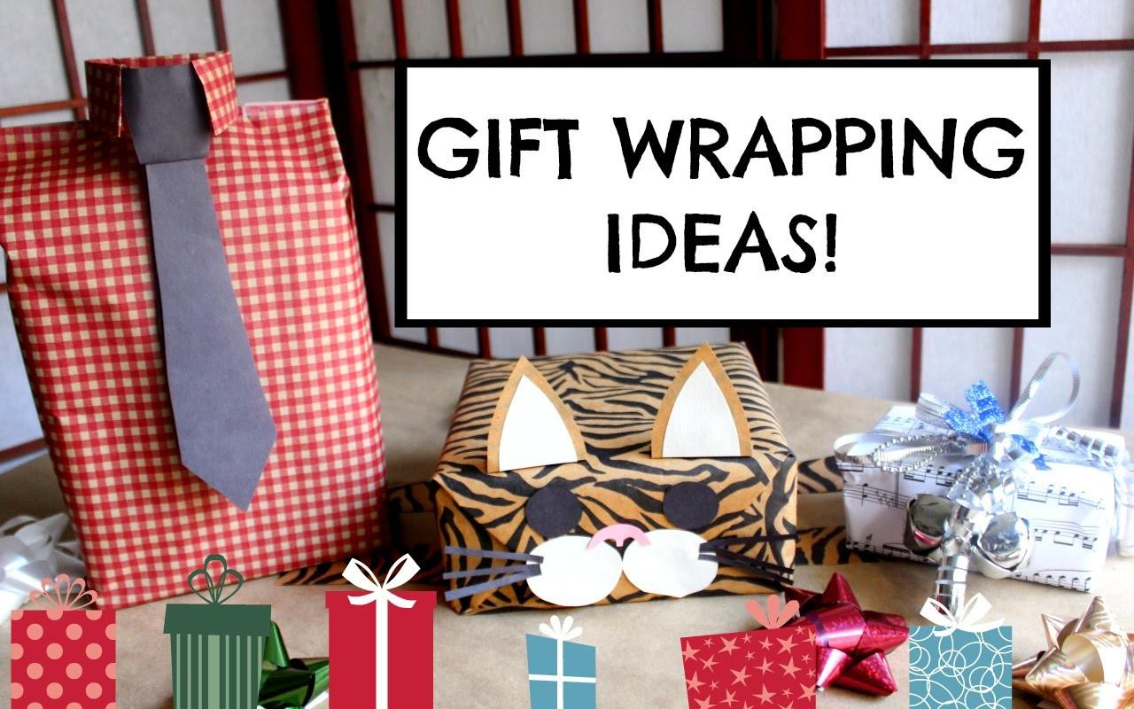 Diy Gift Wrapping Ideas Easy Cute Creative