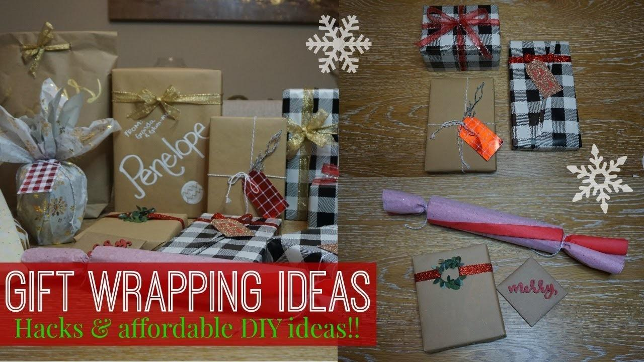 Diy Gift Wrapping Ideas Simple Hacks Affordable
