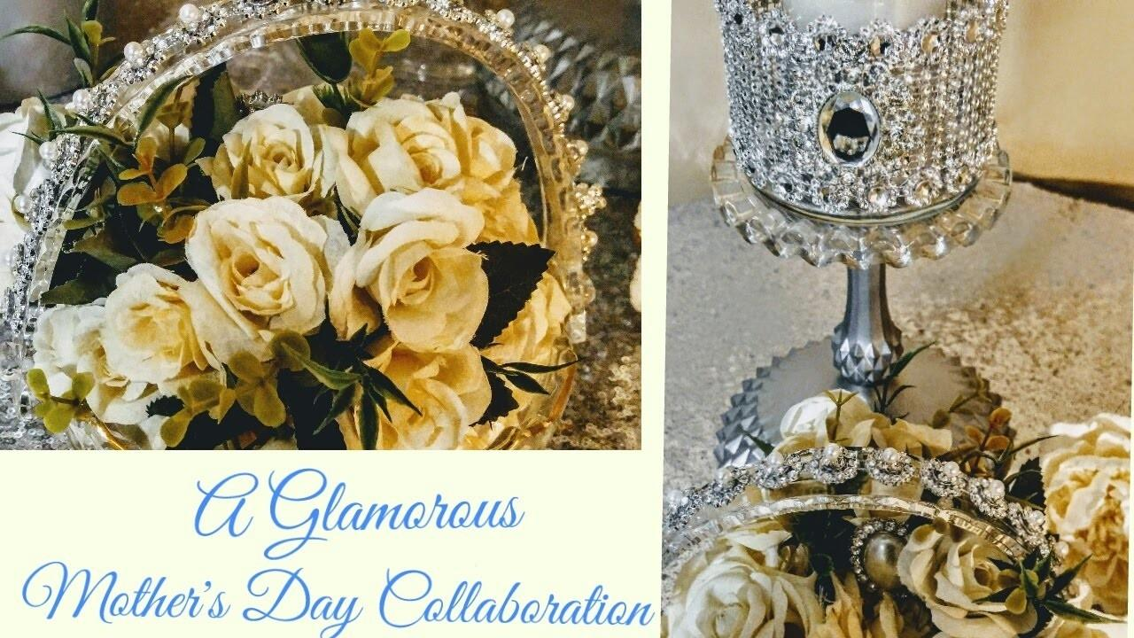 Diy Glamorous Dollar Tree Gifts Mother Day Collaboration