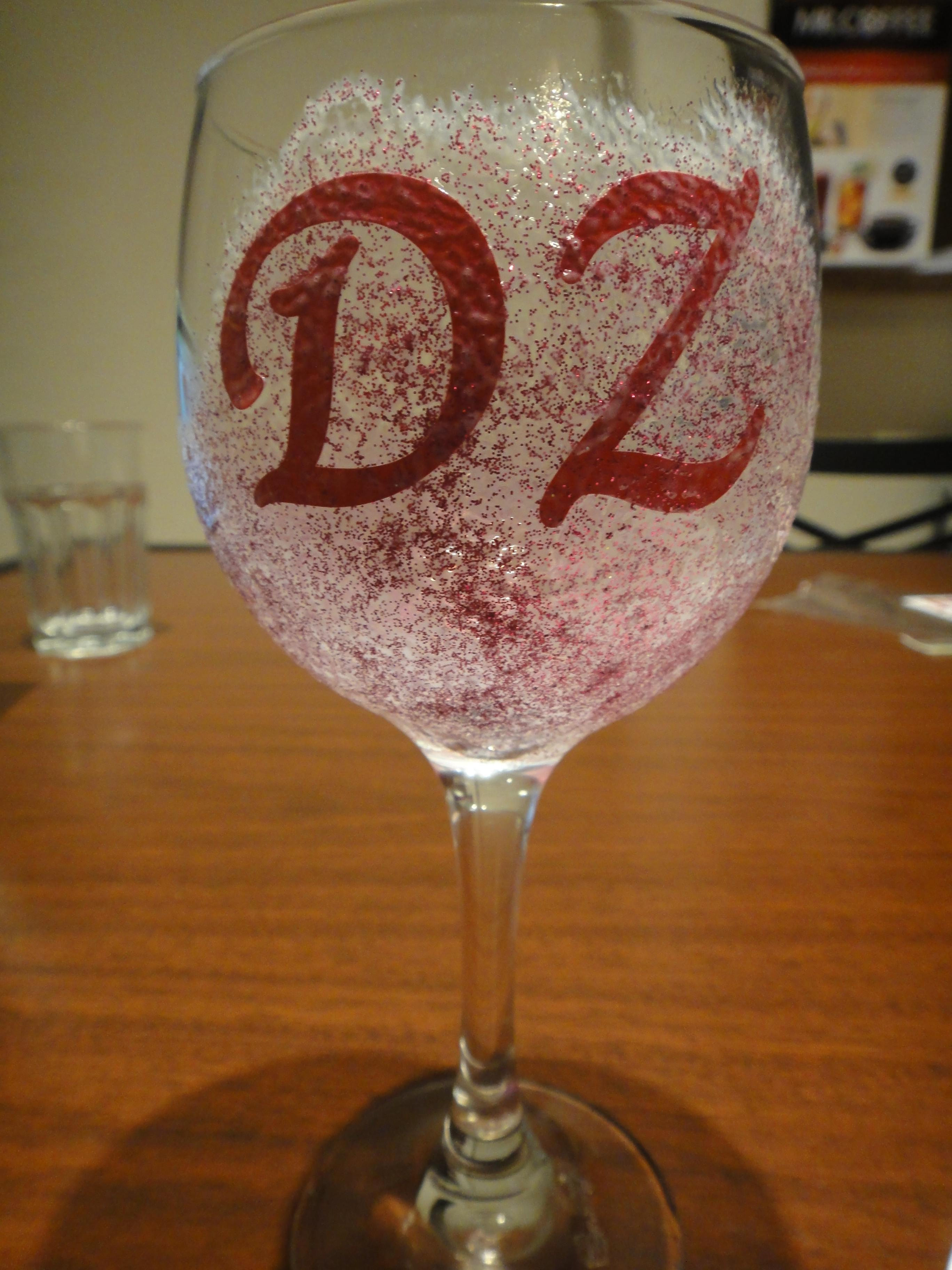 Diy Glitter Drinking Glasses Crafting College