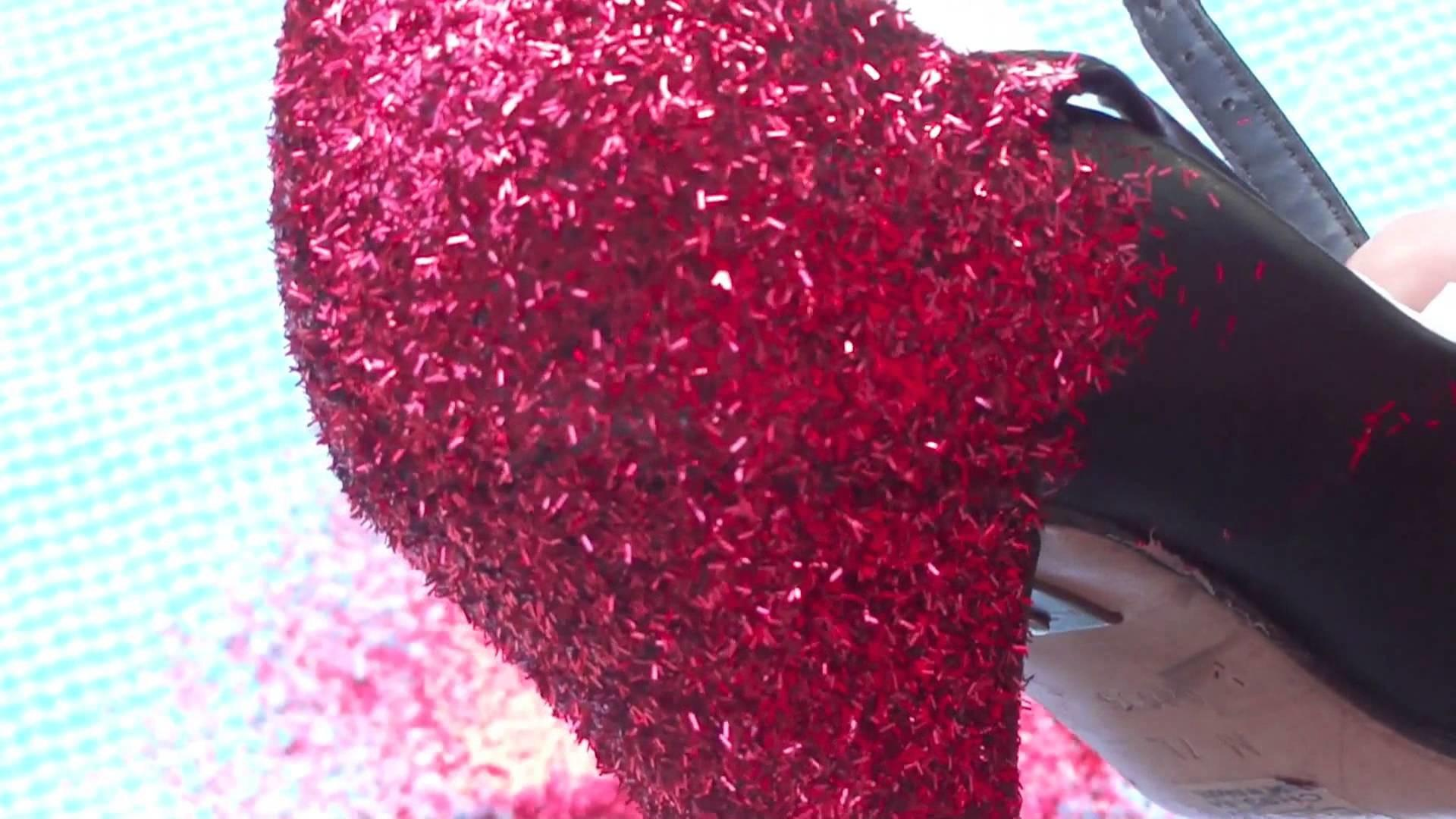 Diy Glitter Your Shoes Dorothy