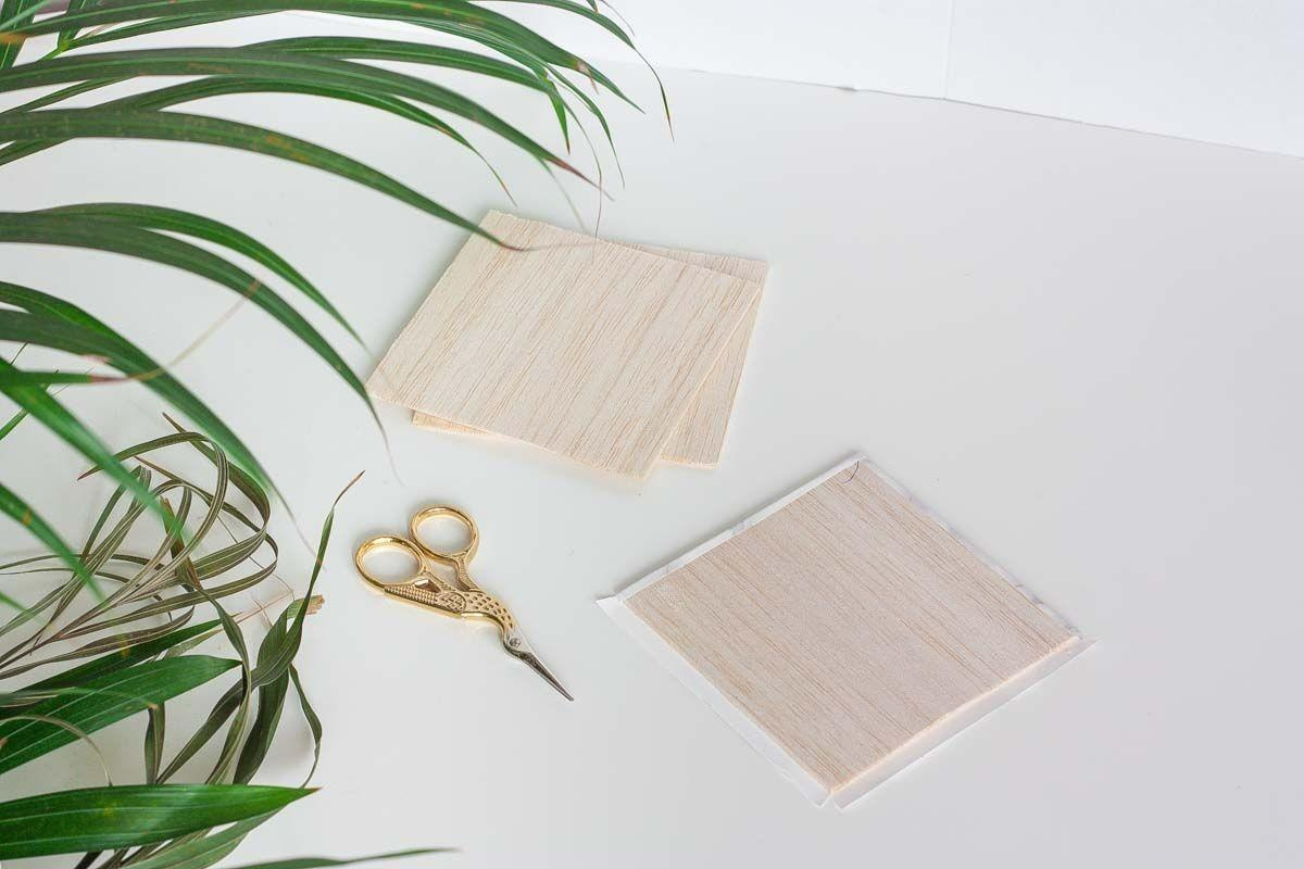 Diy Gold Dipped Marble Coasters