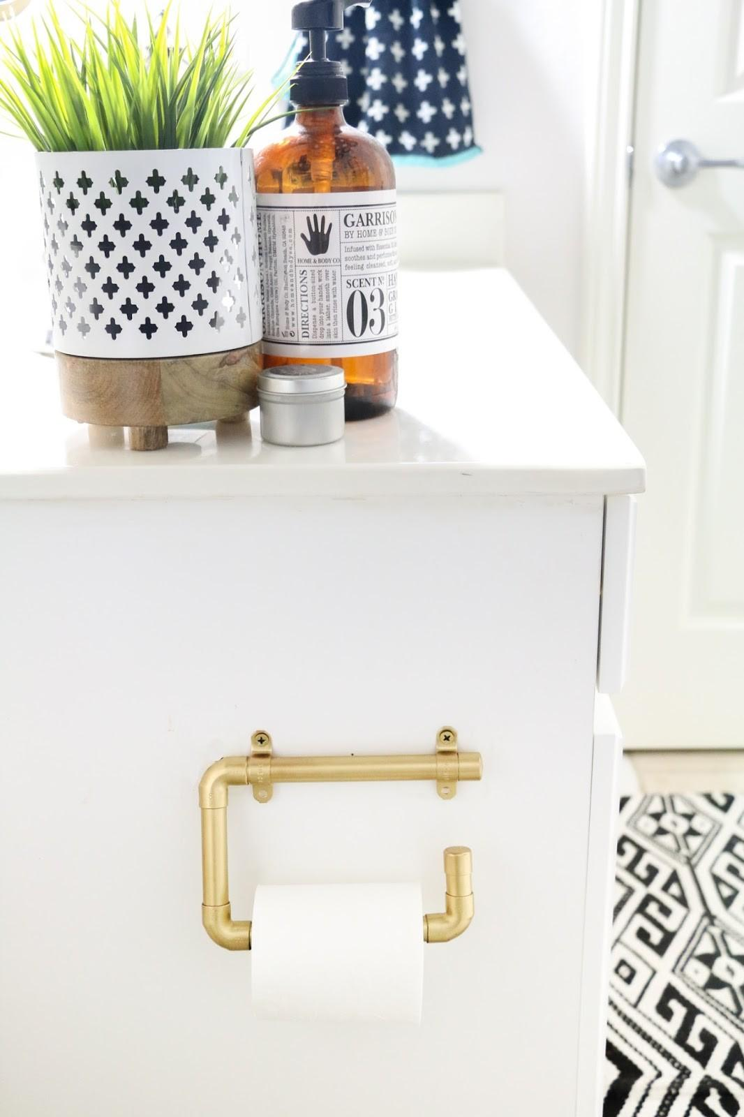 Diy Gold Pipe Curtain Rod Kailo Chic Life
