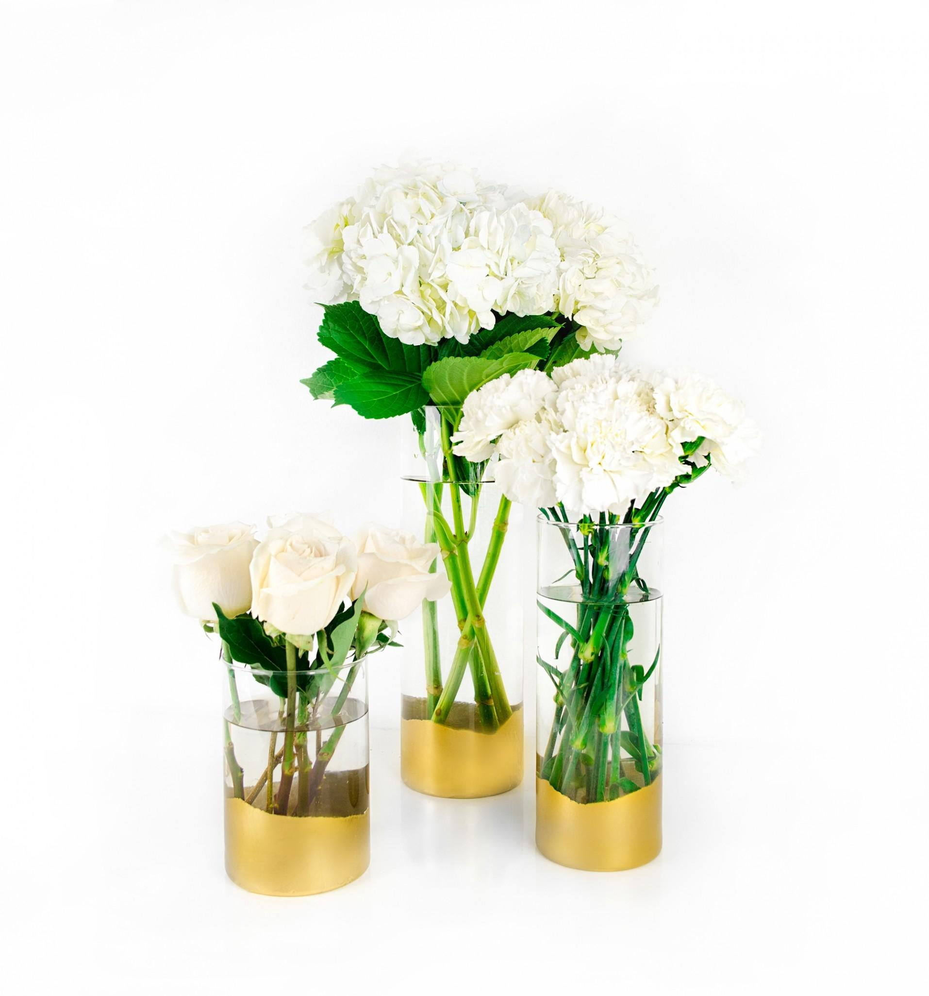 Diy Gold Vase Quick Easy Idea