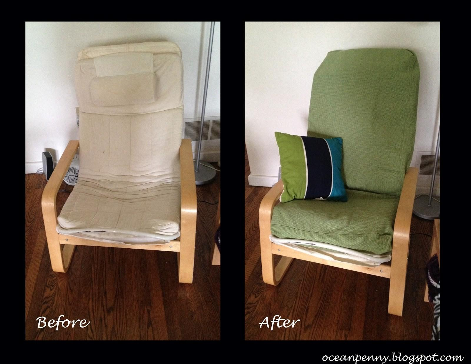Diy Hack Poang Chair Cover Needle Thread Magic