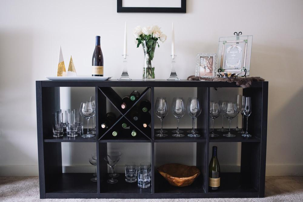 Diy Hack Shelf Wine Rack Freckled Italian