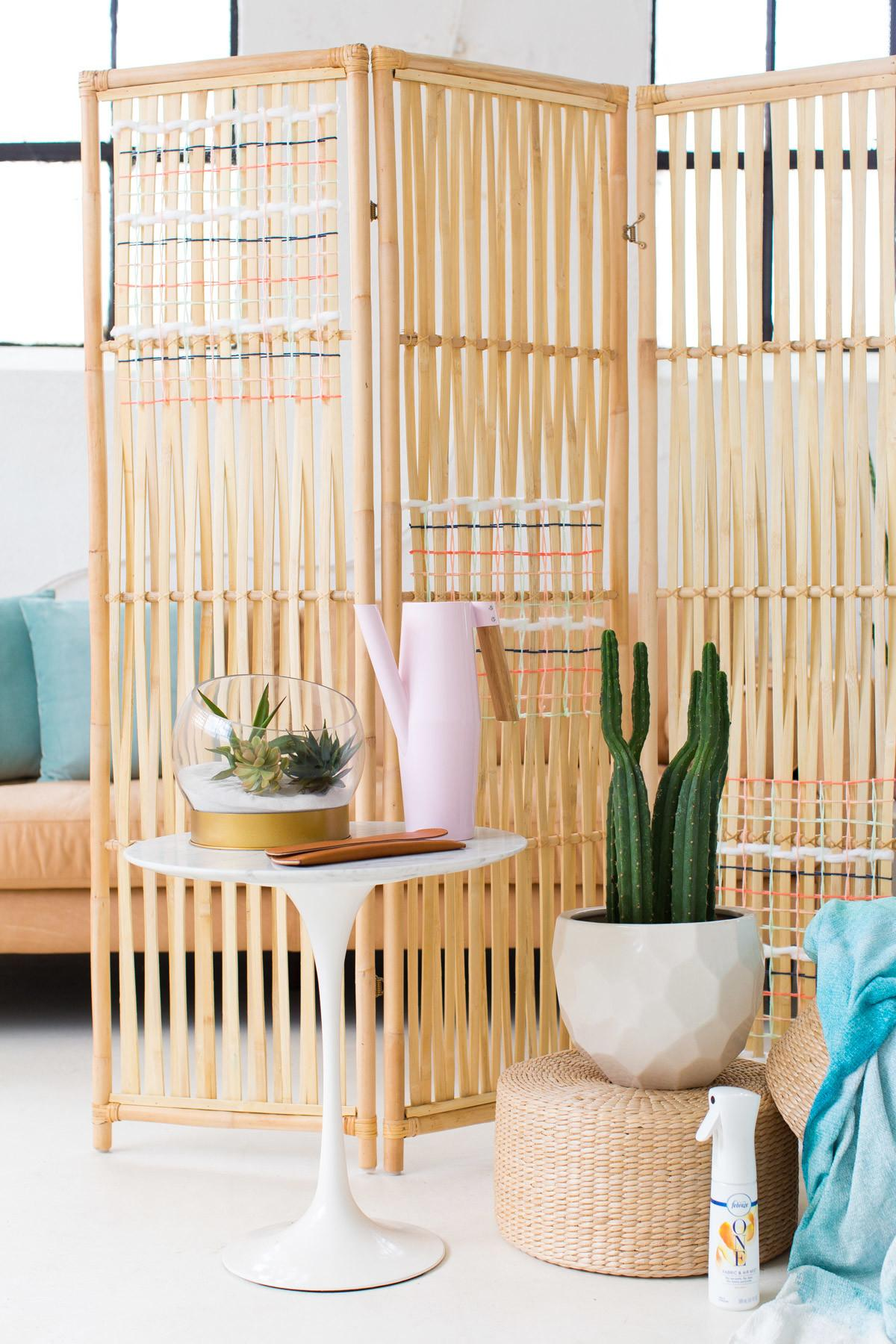 Diy Hack Woven Room Divider Sugar Cloth