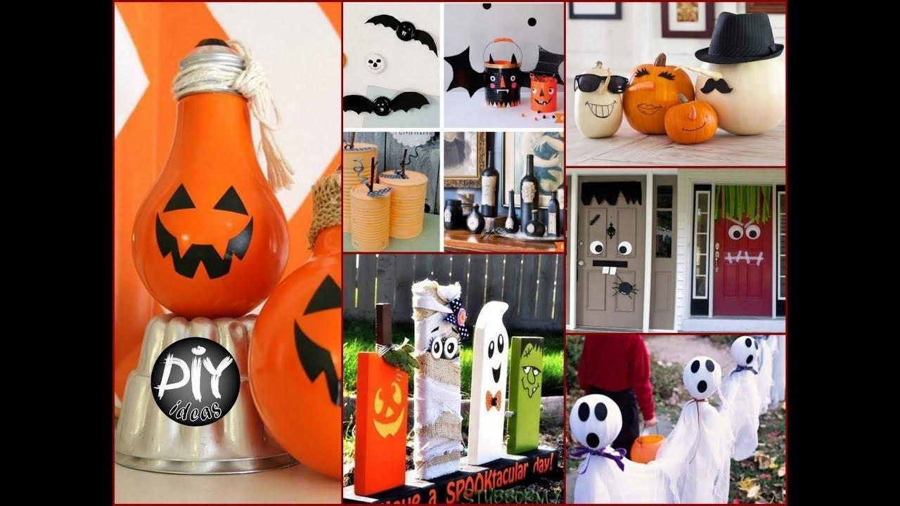 Diy Halloween Decor Using Recycled Materials Easy