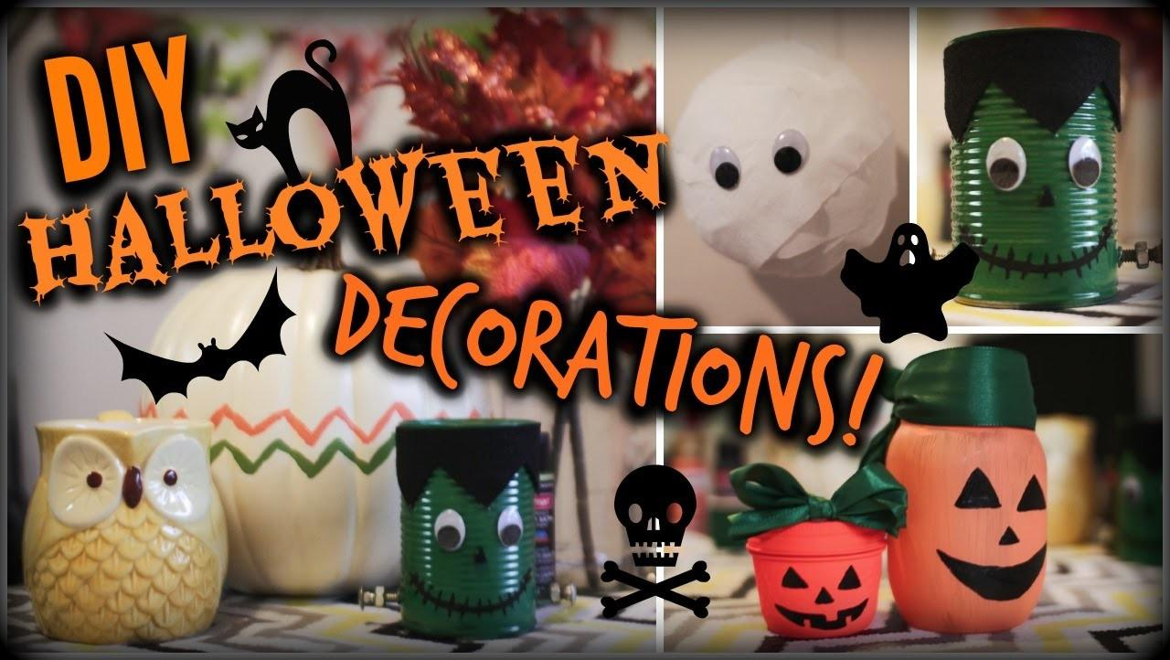 Diy Halloween Decorations Cheap Easy