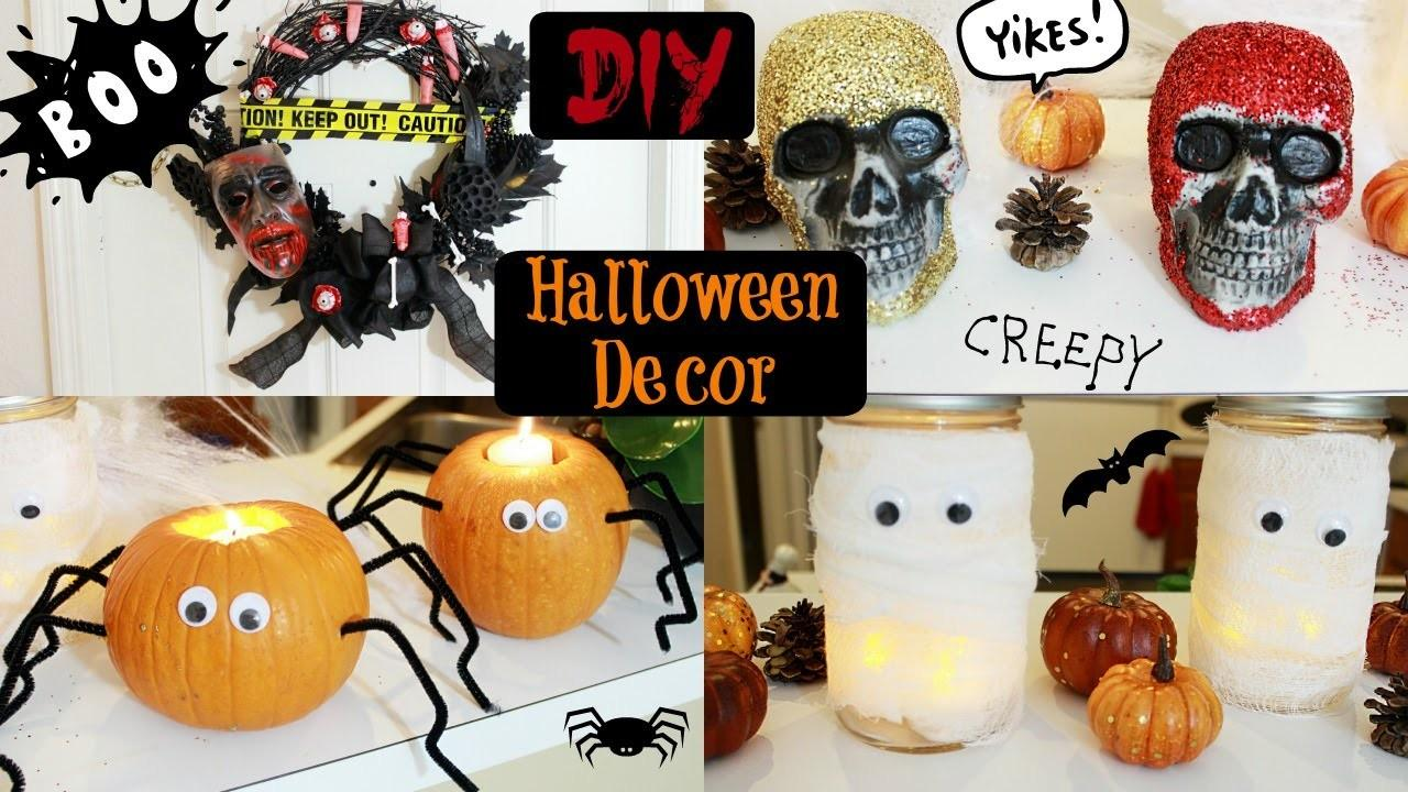 Diy Halloween Decorations Collab Karina Garcia