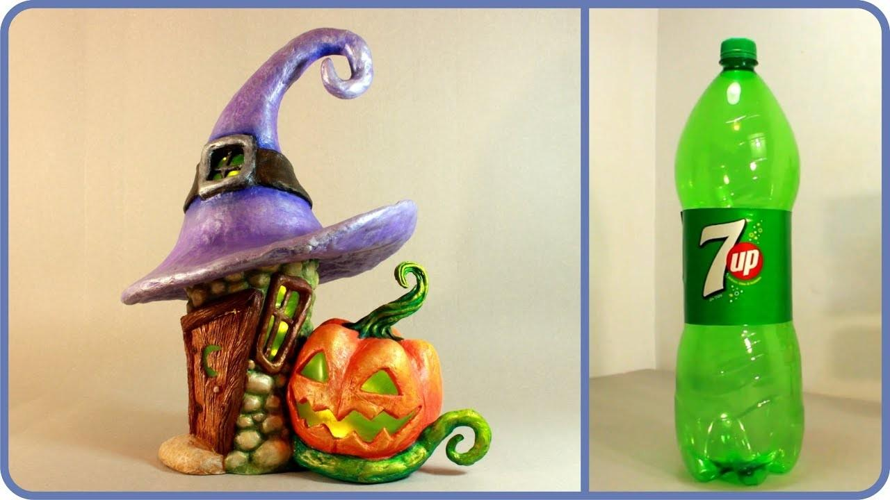 Diy Halloween Fairy House Recycling Plastic Bottle