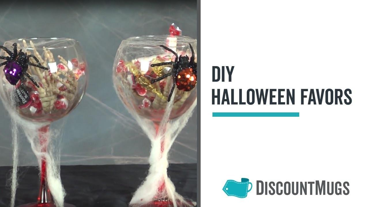 Diy Halloween Party Favors Gifts