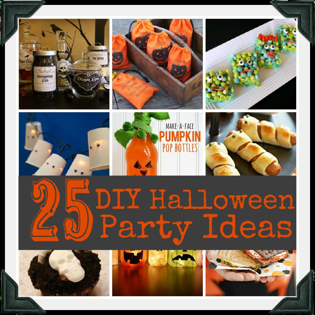 Diy Halloween Party Ideas Quick Easy