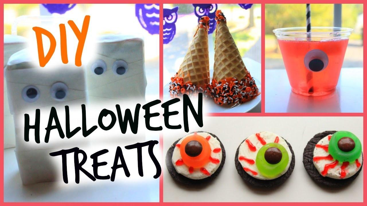 Diy Halloween Sweet Treats