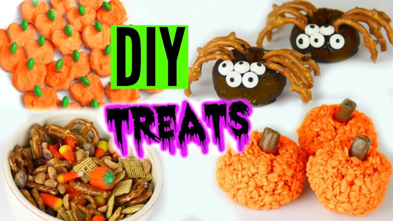 Diy Halloween Treats 2015 Yummy Inspired