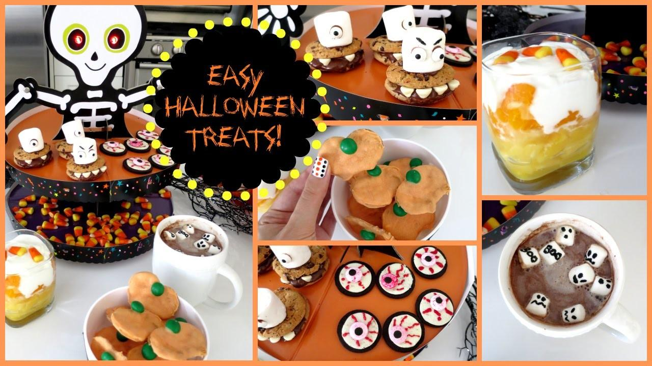 Diy Halloween Treats Easy Ideas Missjenfabulous
