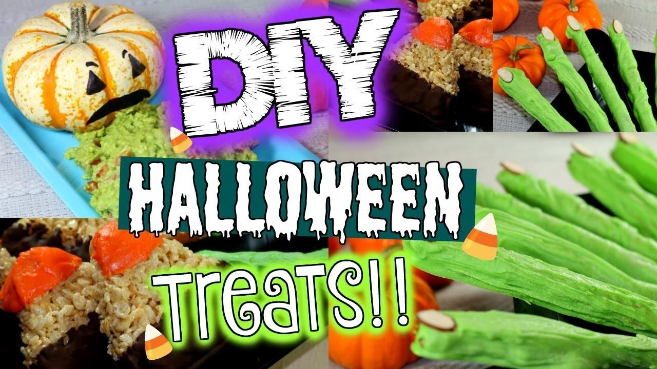 Diy Halloween Treats Easy Treat Ideas