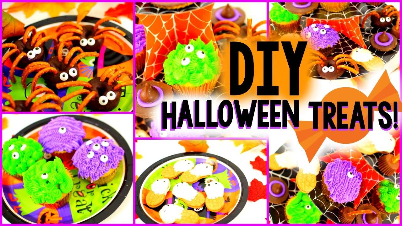 Diy Halloween Treats Easy Yummy