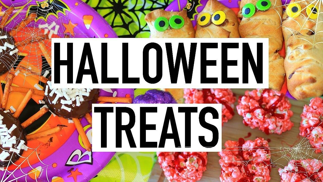 Diy Halloween Treats Easy Yummy Cooking Liv