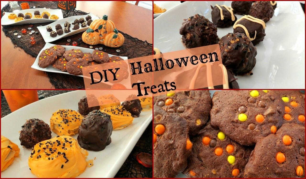 Diy Halloween Treats Truffles Cookies Oreos