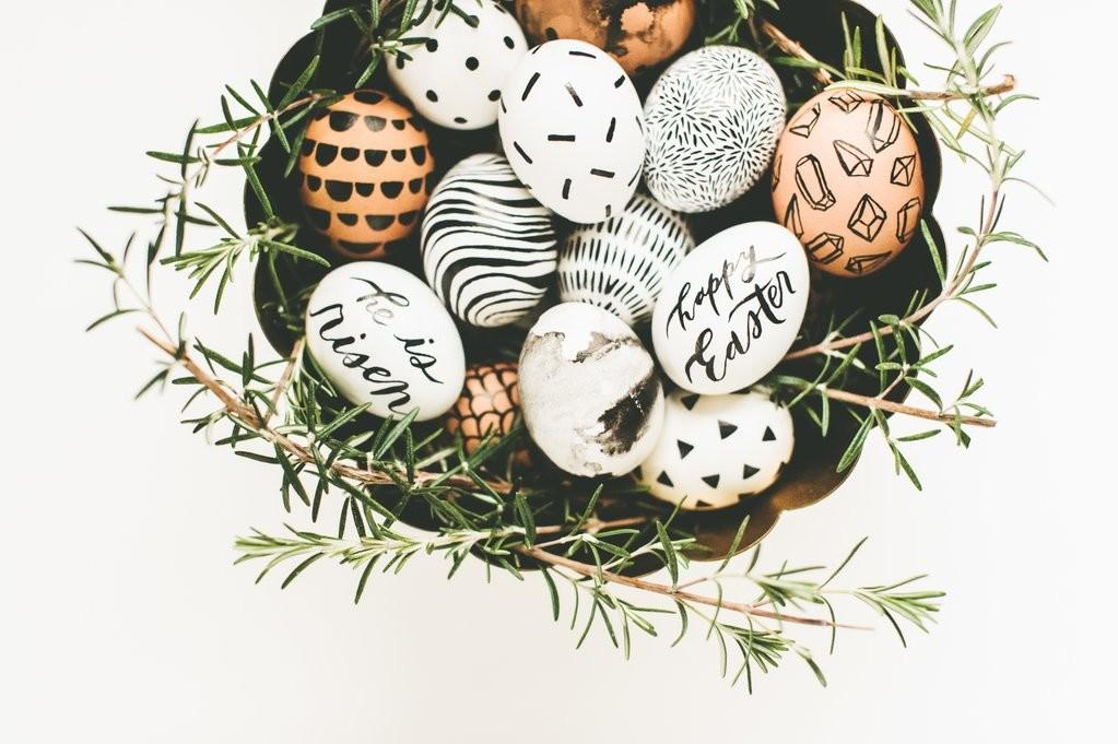 Diy Hand Painted Easter Eggs Deeply Rooted Magazine