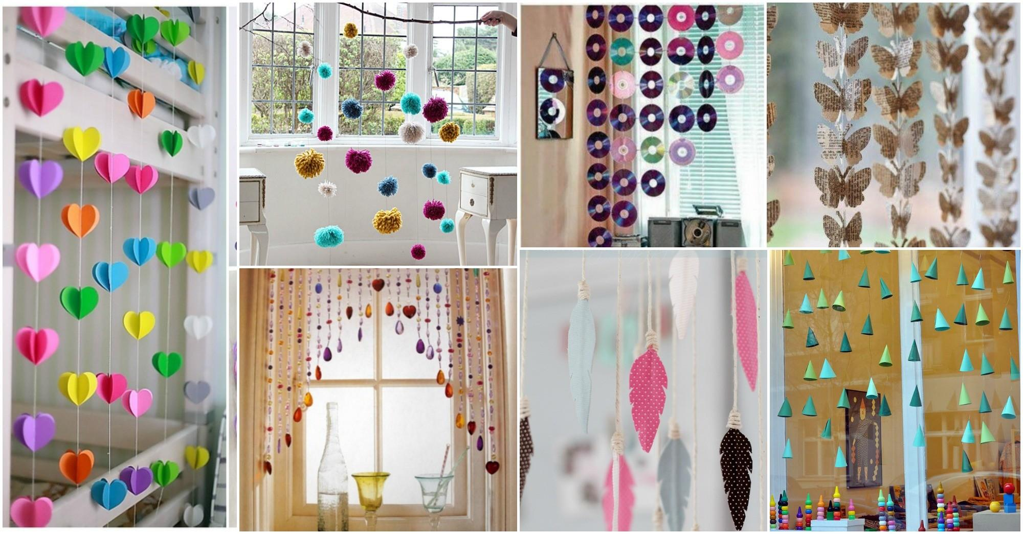 Diy Hanging Window Decorations Brighten Your Day