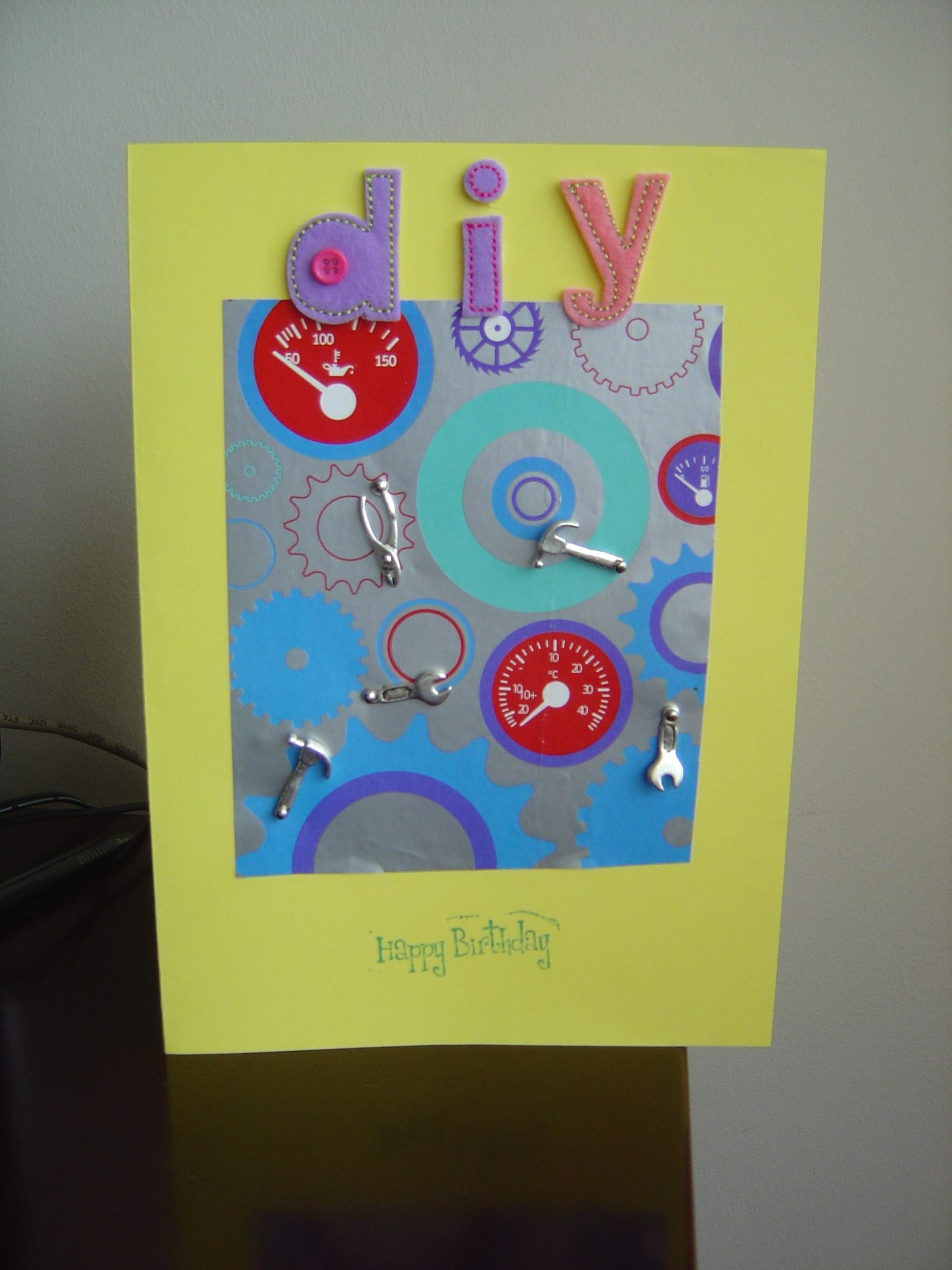 Diy Happy Birthday Card Alanarasbach