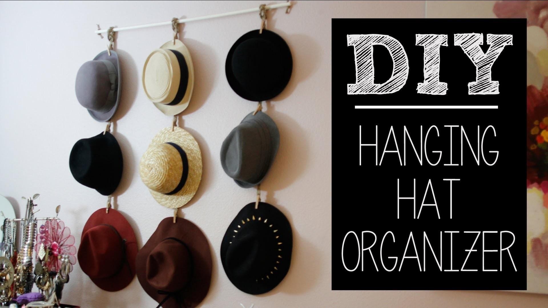 Diy Hat Hanger Organizer Easy Beautybitten
