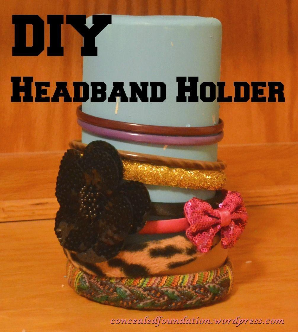 Diy Headband Holder Out Clorox Container