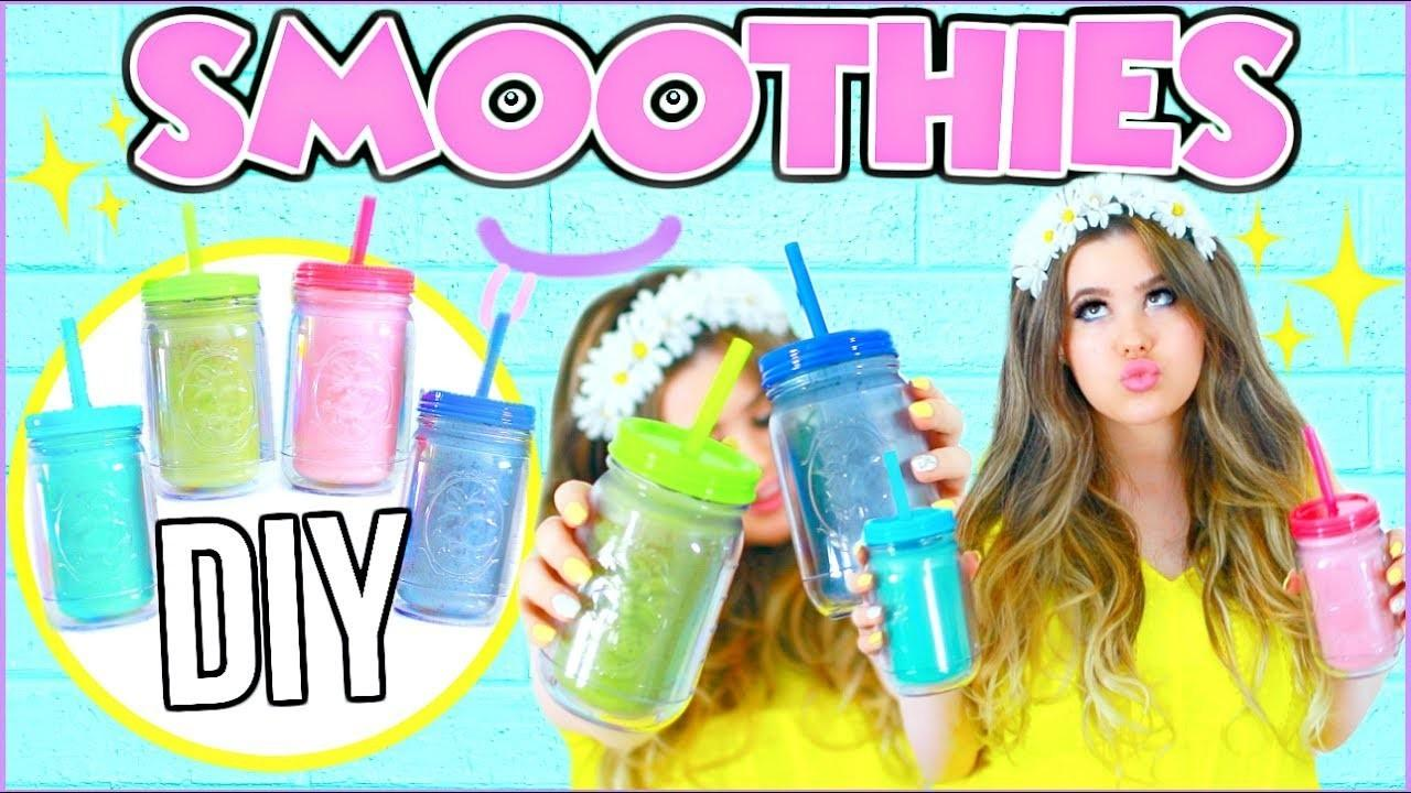 Diy Healthy Smoothies Make Easy Summer Smoothie