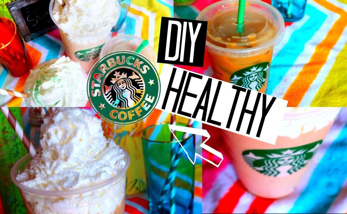 Diy Healthy Starbucks Summer Drinks