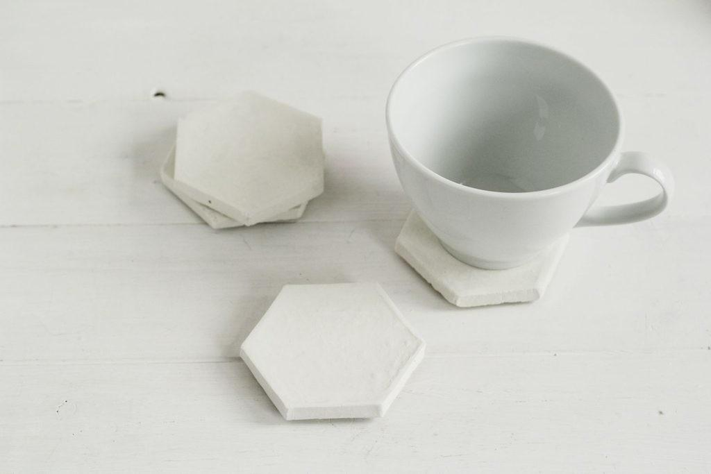 Diy Hexagon Coasters Home Decorating Trends Homedit