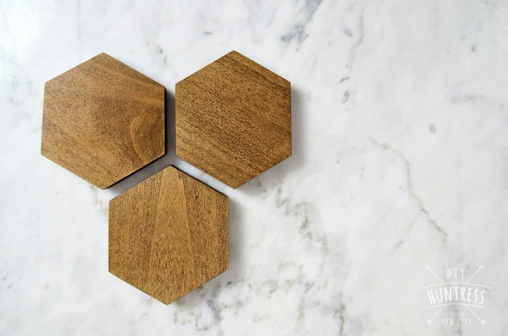 Diy Hexagon Coasters Huntress