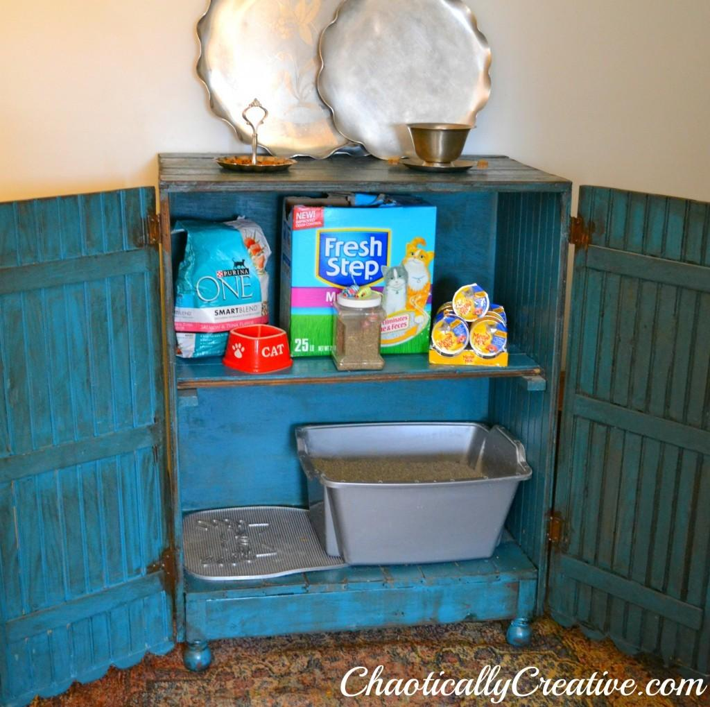 Diy Hidden Litter Box Ideas Style Factor Your