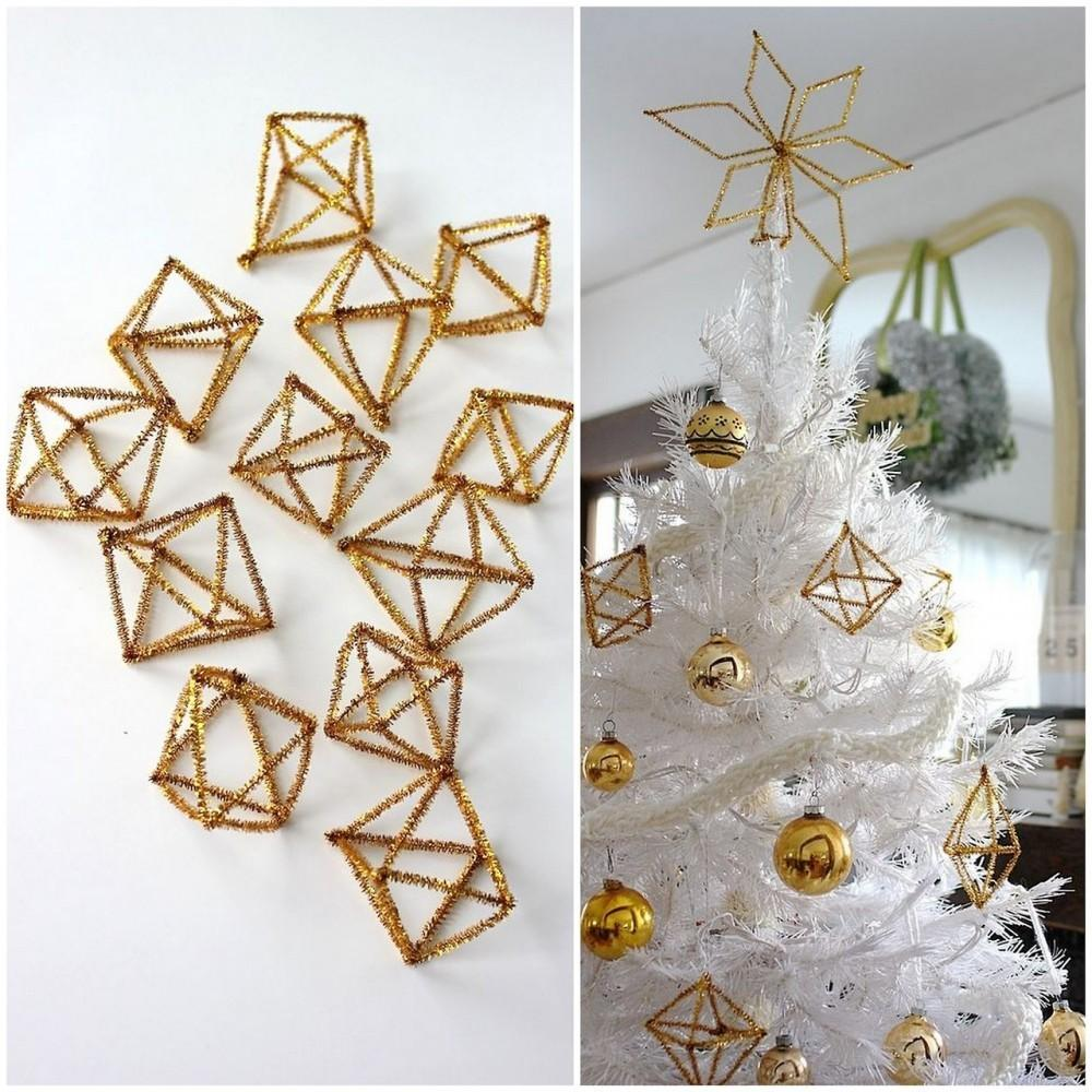 Diy Himmeli Pipe Cleaner Ornaments Archives