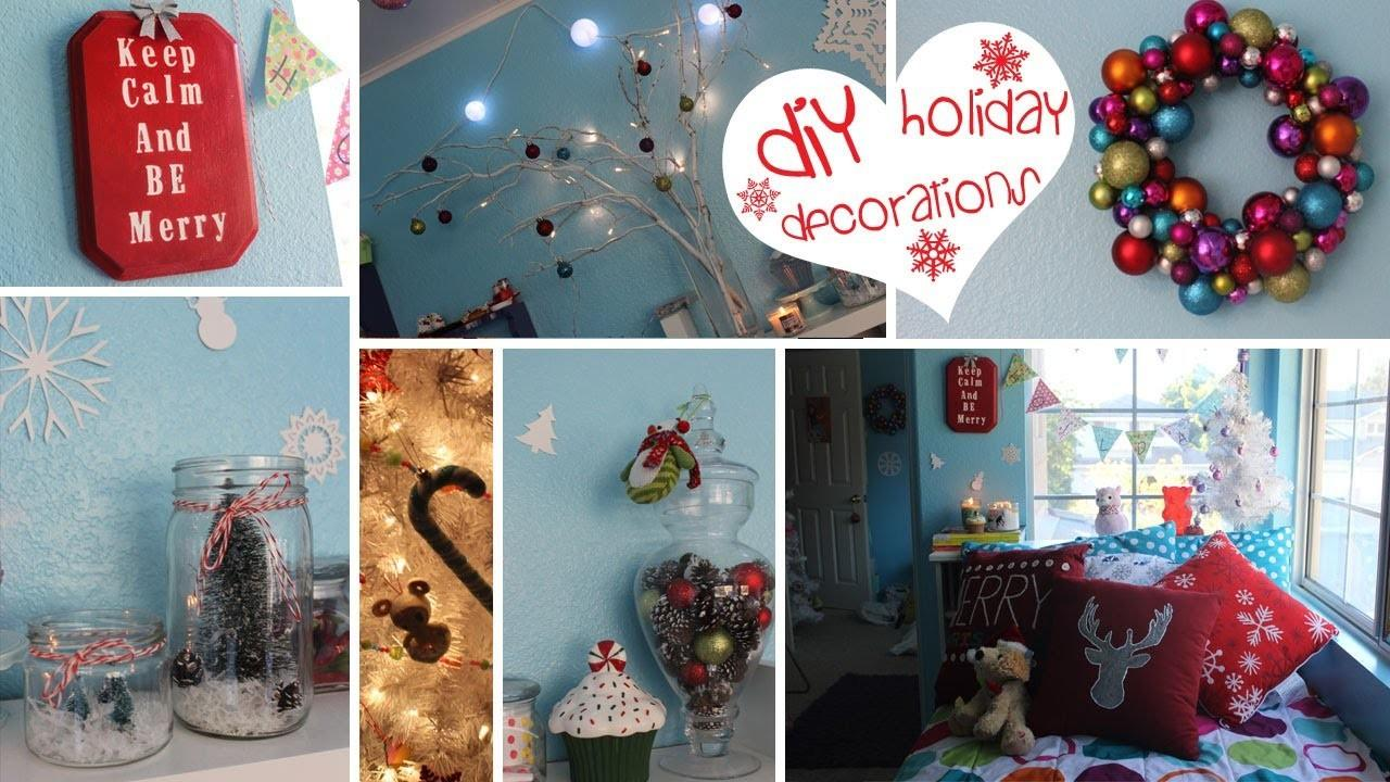 Diy Holiday Decorations Easy Fun Affordable