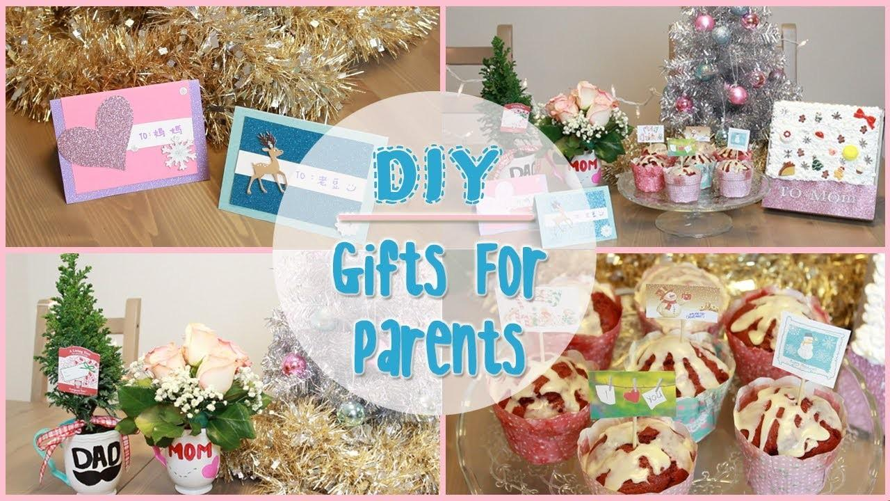 Diy Holiday Gift Ideas Parents Ilikeweylie
