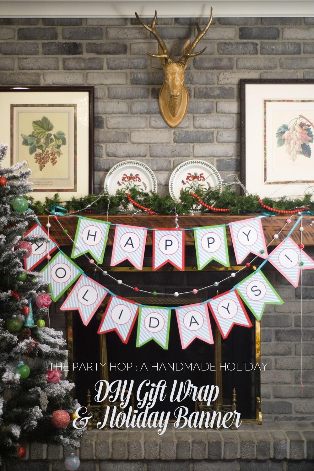 Diy Holiday Gift Wrap Ideas Banners Creative Juice