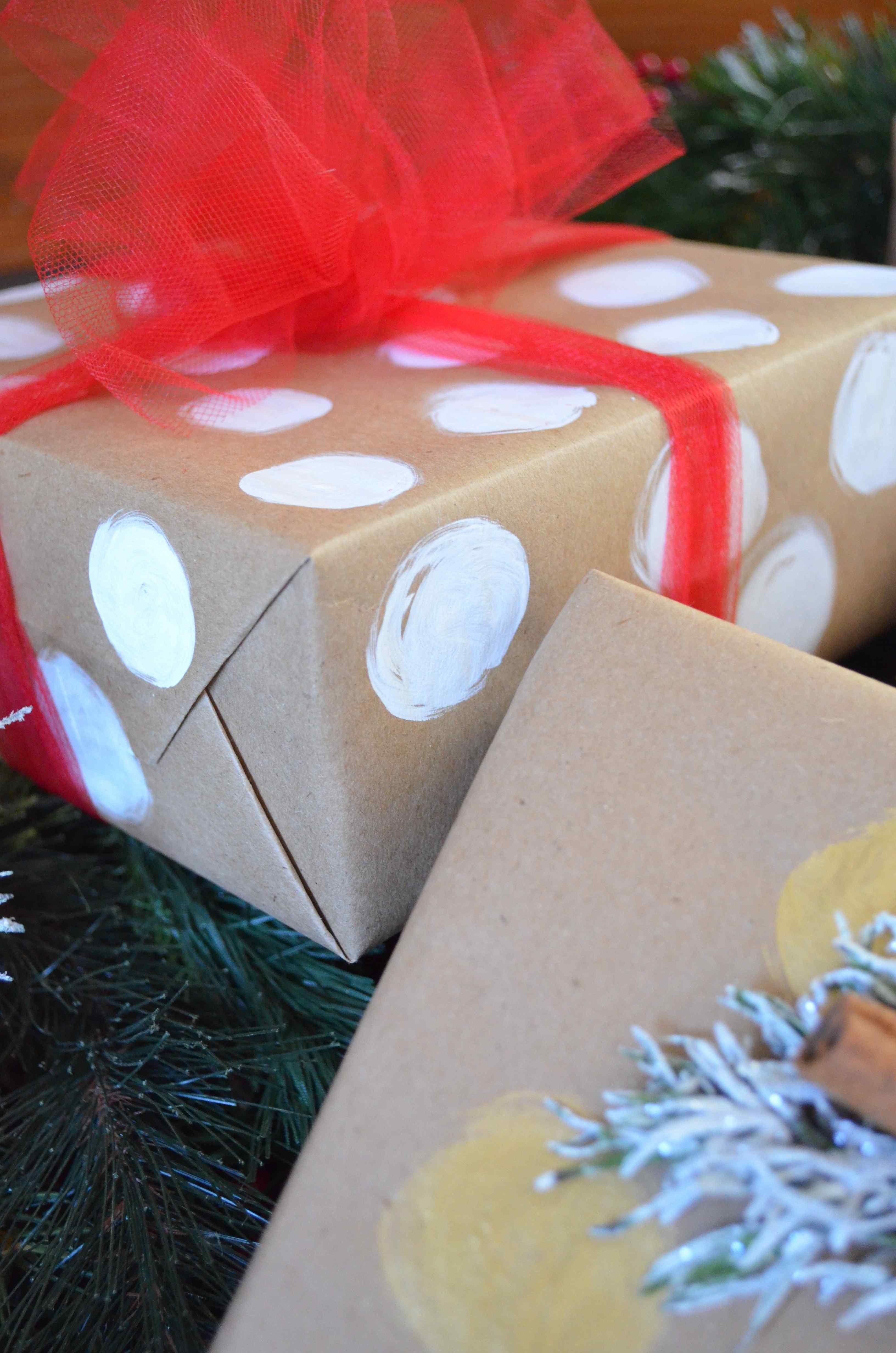Diy Holiday Gift Wrapping Scratch Maria Provenzano