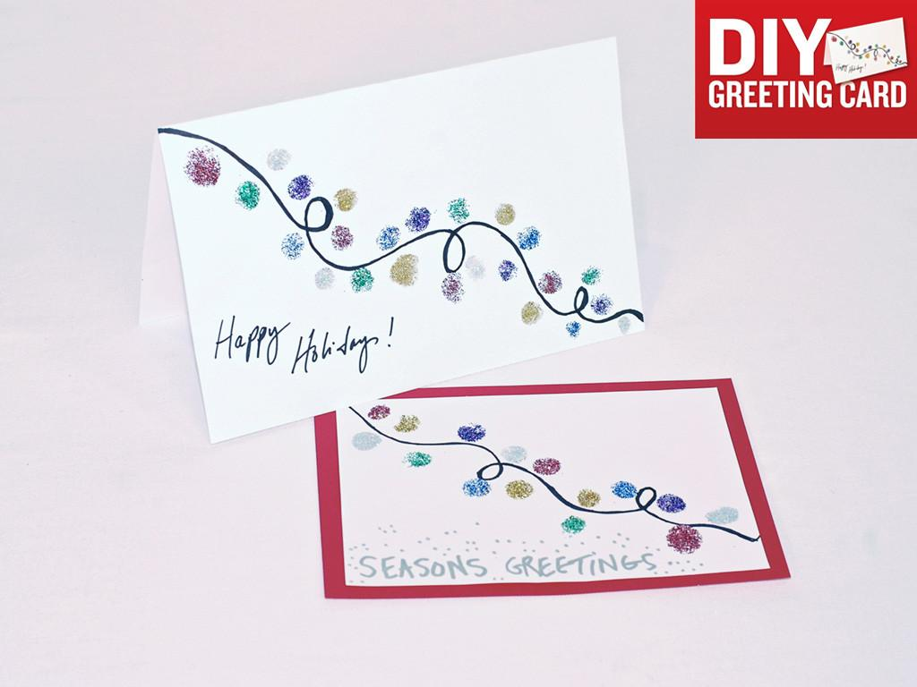 Diy Holiday Greeting Cards Today