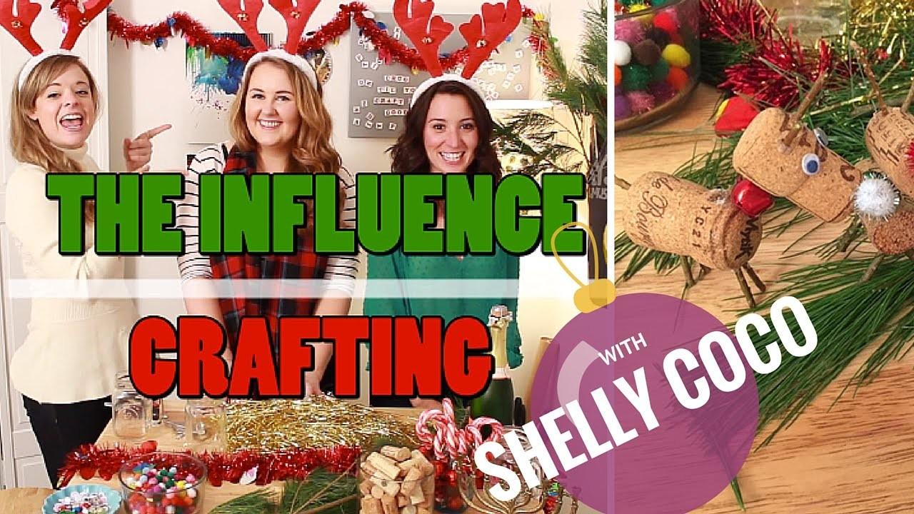 Diy Holiday Wine Cork Crafts Shelly Coco Crafting